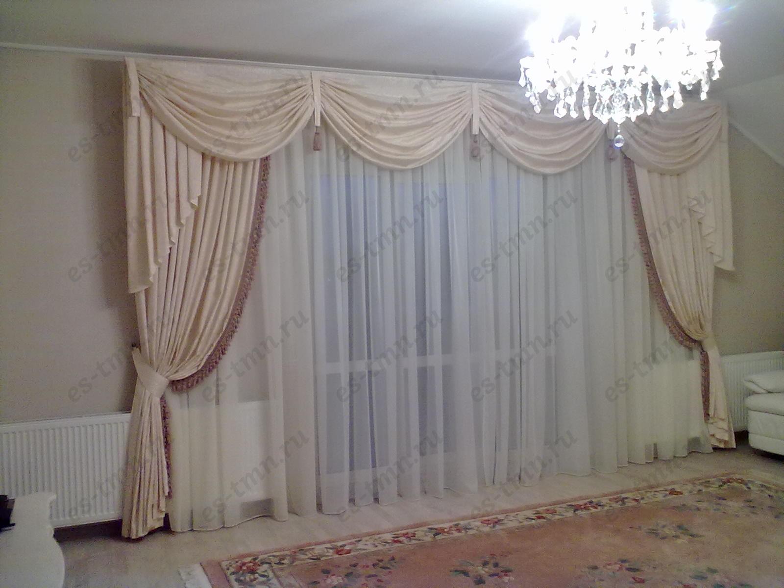 Шторы для гостиной  тюмень