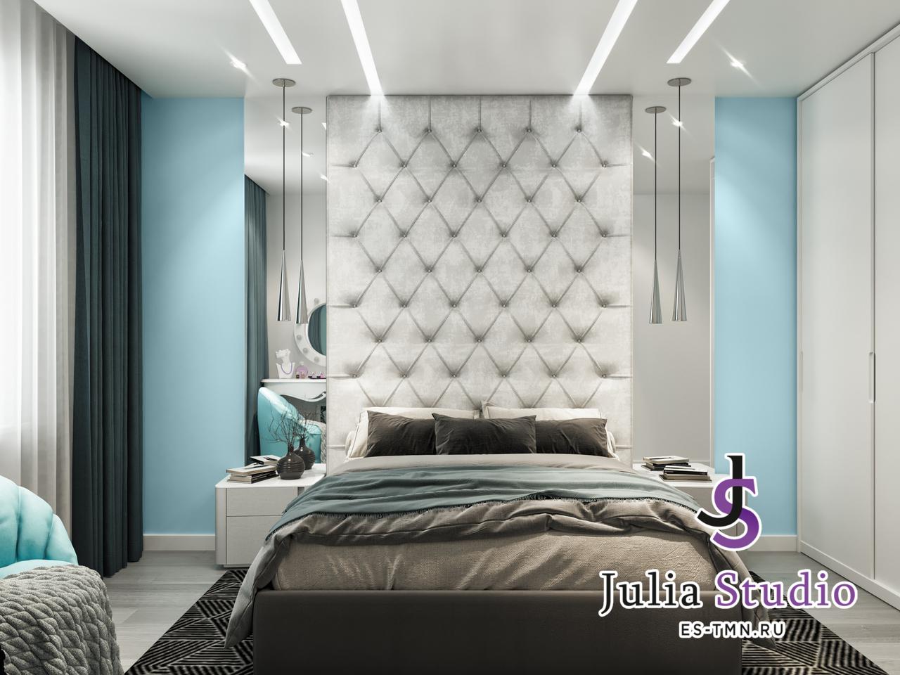 Спальная комната в проекте Линейная