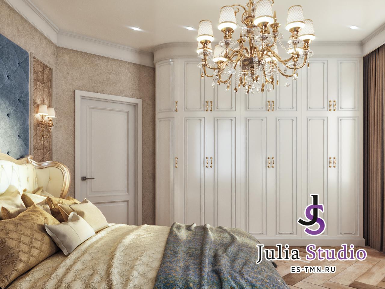 Спальня в частном доме