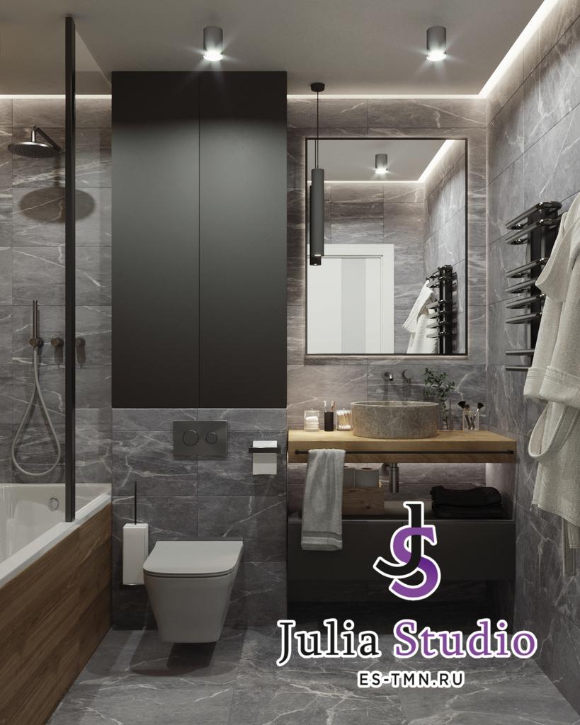 """Ванная комната в """"Видном"""""""